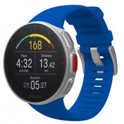Montre GPS multisport connectée Polar Vantage V bleue - taille : M - L