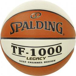 Ballon Spalding TF 1000 Legacy Aut - orange-blanc - Taille 7