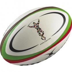 GILBERT Ballon de rugby REPLICA - Harlequins - Taille Midi