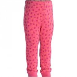 Pantalon chaud imprimé Gym baby rose
