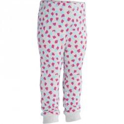 Pantalon chaud imprimé Gym baby gris rose