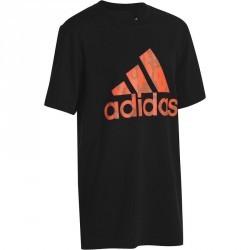 tshirt fitness garçon Adidas noir