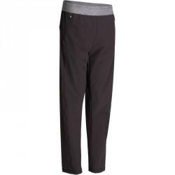 Pantalon toile YOGA+ 920 Qi noir homme