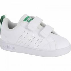 Chaussures gym bébé blanc vert