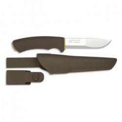 Couteau Morakniv, Bushcraft Forest, mango caoutchouc, lame en acier inoxydable de 10,7 cm, 23,3 cm au total, 17422.