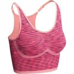 Brassiere YOGA+ sans couture femme rose