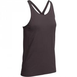 Debardeur YOGA+ sans couture noir femme