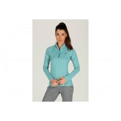 Asics LS 1/2 Zip Jersey W vêtement running femme