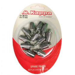 Crampons 100% aluminium KAPPA 4x20 mm et 8x17mm