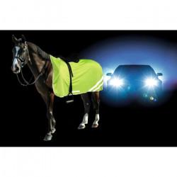 KERBL Couverture de sécurité réflectorisante pour chevaux - 135cm