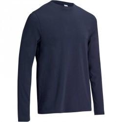 T-Shirt manches longues Gym & Pilates homme bleu marine