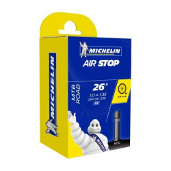 Chambre A AIR Michelin Velo 26- x 1.00-1.35 C2 25/35-559 Valve Schrader 36MM VTT Route MTB AIRSTOP Butyl