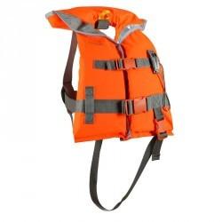 Gilet de sauvetage mousse bateau enfant LJ 100N orange