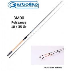 pêche Garbolino Feeder Silver Bullet en 3m00 ( 10-35gr)
