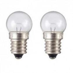 Ampoule pour feu avant de vélo 2,4 W 6 V - Par 2