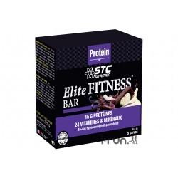 STC Nutrition Etui 5 Barres Elite Fitness Noix de Coco Diététique Barres