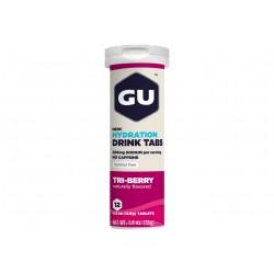 GU Tablettes Hydratation Drink - Fruits des bois Diététique Boissons