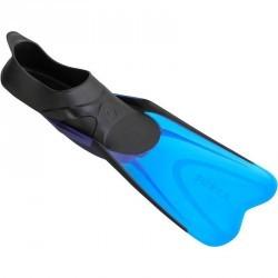 Palmes de snorkeling 520 adulte noires et bleues