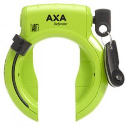 AXA Defenderserrure à anneau en acier ART-2 verte/noire 3 pièces