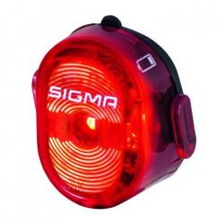 Sigma Sport Nugget II Flash Lumière arrière, Rouge, Taille unique