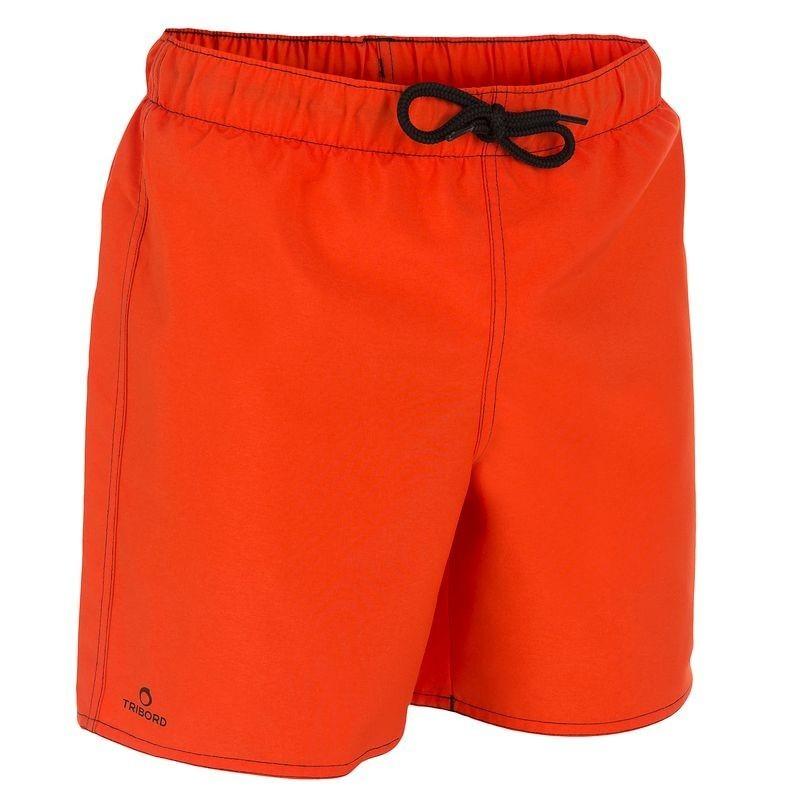 Boardshort court garçon Hendaia Txiki orange