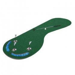 PGA TOUR Tapis d'Entraînement au Putting - 91 x 275 cm - Vert