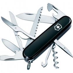 Couteau de poche suisse Huntsman Victorinox 1.3713.3 Nombre de fonctions 15 Couleur noir