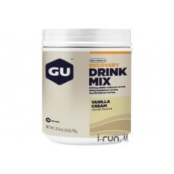 GU Boisson Recovery Drink Mix Vanille Crème Diététique Protéines / récupération