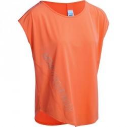 T-shirt loose fitness cardio femme orange ENERGY