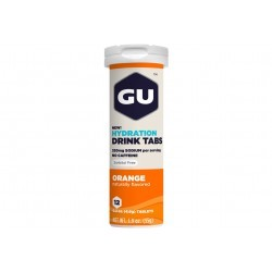GU Tablettes Hydratation Drink - Orange Diététique Boissons