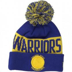 Bonnet NBA Golden State Warriors New Era Team Tonal Bleu pour enfant Junior (53-55cm) Multicolor