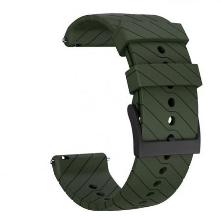 MONTRE OUTDOOR Bracelet de remplacement en silicone souple pour montre Suunto 9-9 Baro Copper bg657 SDF657