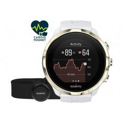 Suunto Spartan Sport Wrist HR Gold + ceinture Cardio-Gps