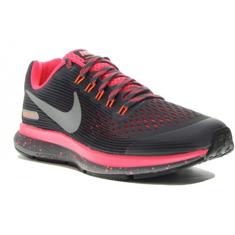 Avis   Test Nike Shield Air Zoom Pegasus 34 Shield Nike Gs Chaussures Running 4dedf9