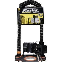 Master Lock Antivol U Cadenas Noir 280 mm