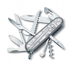 Couteau de poche moyen Victorinox Climber 1.3703.T7B1 avec 14 fonctions Comprend des ciseaux et un crochet multi-usages sous