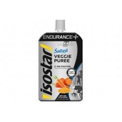 Isostar Gourde Veggie Purée Endurance+ - Carottes Patate douce Semoule Diététique Gels