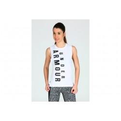 Under Armour Exploded Wordmark Muscle W vêtement running femme