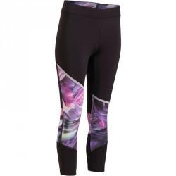 7/8 fitness cardio femme imprimé violet Energy Xtrem