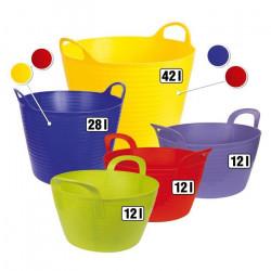 Seau -Flex Bag-, env. 12 l, couleur verte