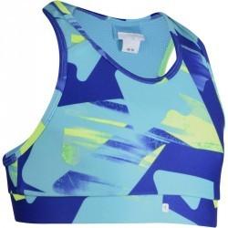 Brassière imprimé Gym Energy fille bleu