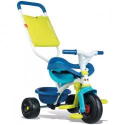 Smoby - 740405 - Tricycle Evolutif Be Fun Confort - Bleu