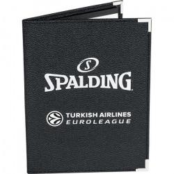 Porte documents Spalding A5 - noir - TU