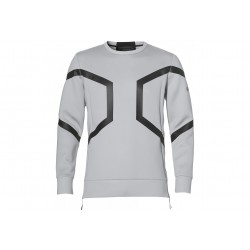 Asics Hexagon Crew Top M vêtement running homme