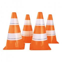 SPEEDMINTON Set de cônes de délimitation