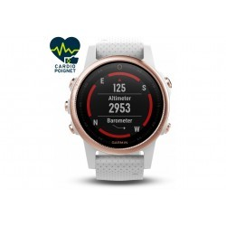 Garmin Fenix 5 S GPS Multisports Sapphire Rose Gold Cardio-Gps
