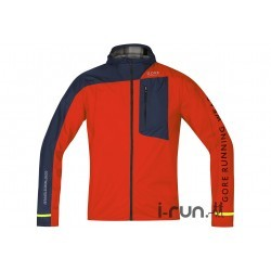 Gore Running Wear Fusion WindStopper Active Shell M vêtement running homme