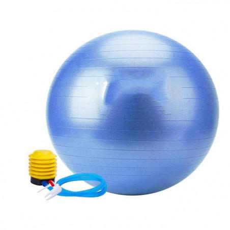Ballon Grossesse Swiss Ball Ballon Fitness Ballon Gym et de Grossesse Decathlon Ballon Sport avec Pompe à Ballon Epais,(55cm