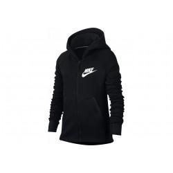 Nike Tech Fleece Hoodie Fille vêtement running femme