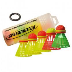 Speedminton Volants Speedertube Mixpack